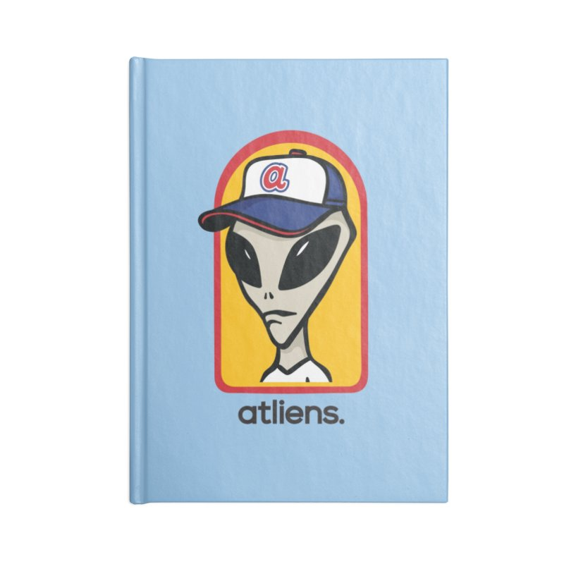 ATLien Workshop Accessories Blank Journal Notebook by MattAlbert84's Apparel Shop