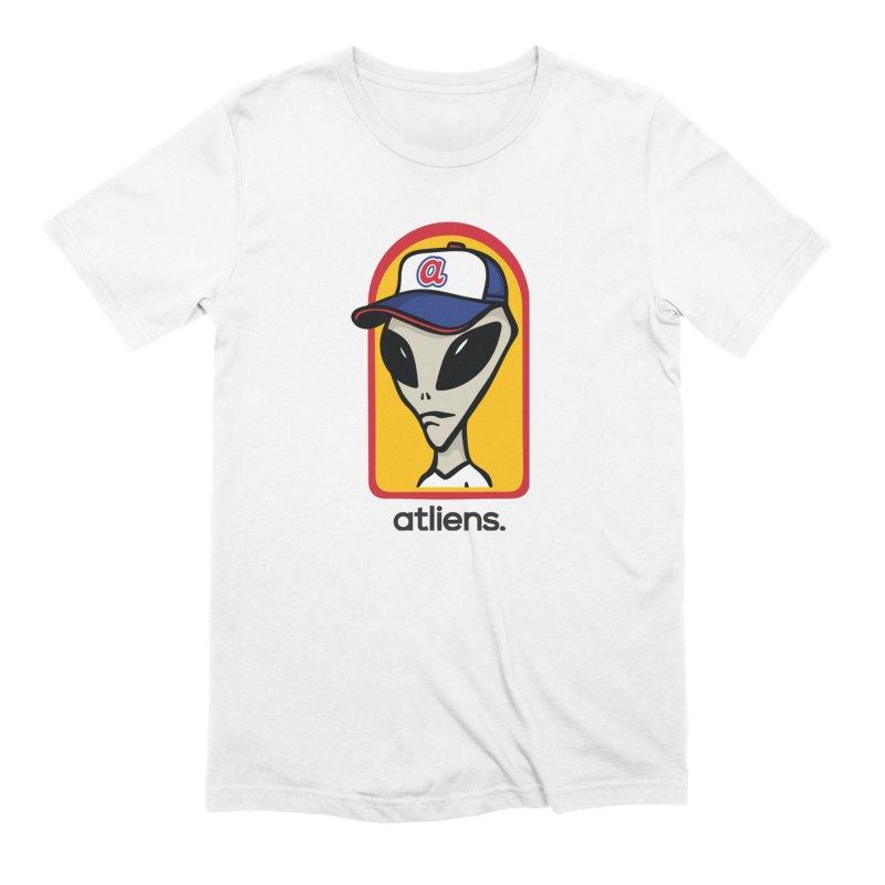 ATLien Workshop Men's Extra Soft T-Shirt by MattAlbert84's Apparel Shop