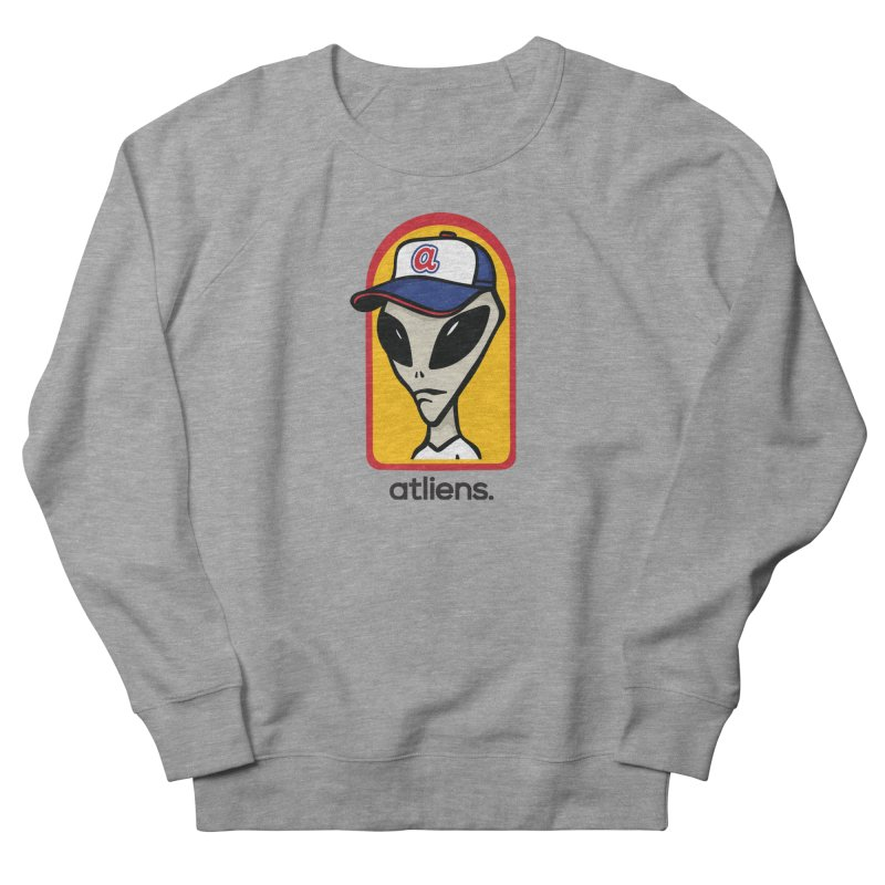 ATLien Workshop Men's French Terry Sweatshirt by MattAlbert84's Apparel Shop