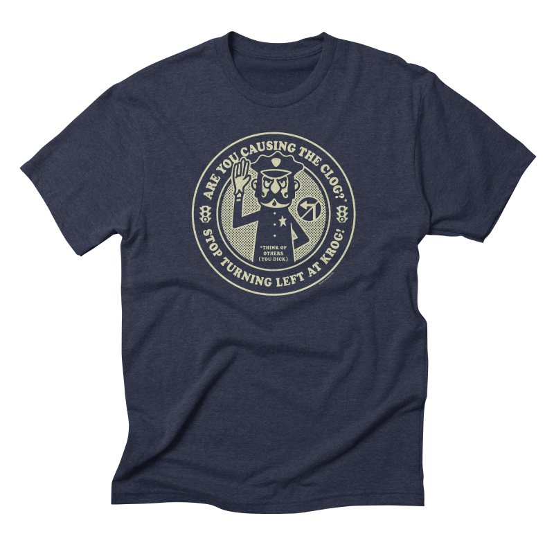 Stuck at Krog St. Men's Triblend T-Shirt by MattAlbert84's Apparel Shop