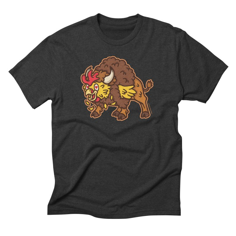 Buffalo Chicken Men's Triblend T-Shirt by MattAlbert84's Apparel Shop