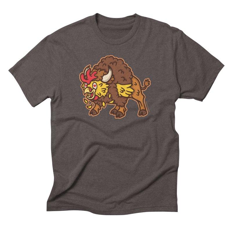 Buffalo Chicken Men's Triblend T-Shirt by MattAlbert84's Apparel Shop