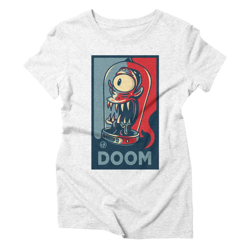 DOOM Women's Triblend T-shirt by MattAlbert84's Apparel Shop