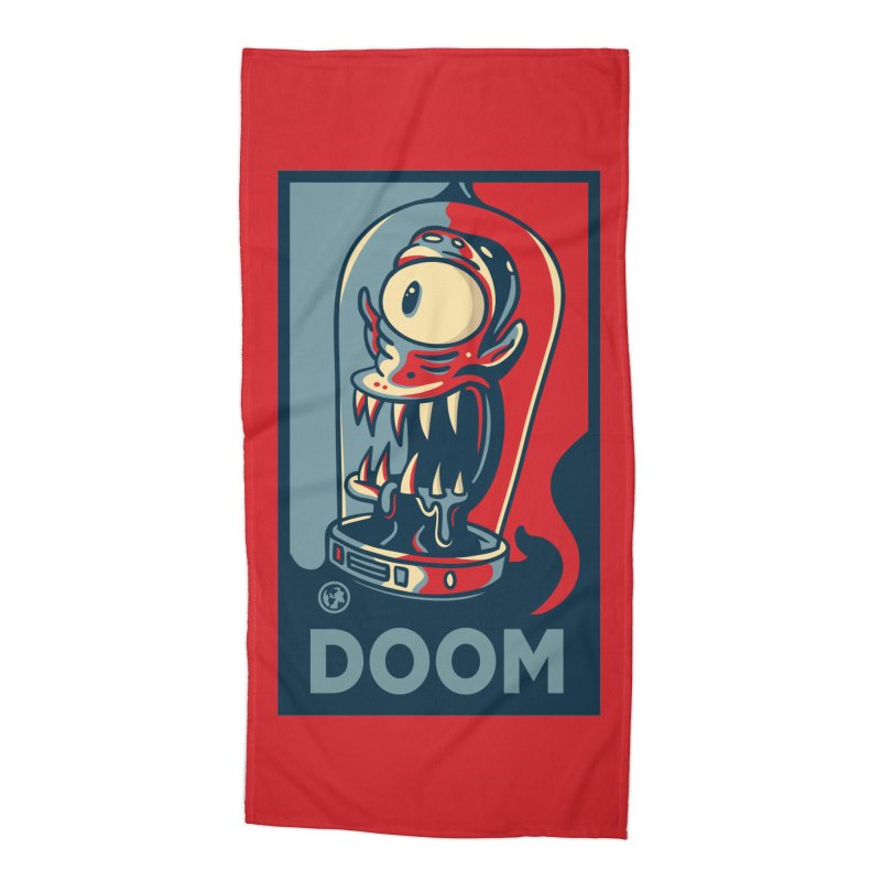 DOOM Accessories Beach Towel by MattAlbert84's Apparel Shop