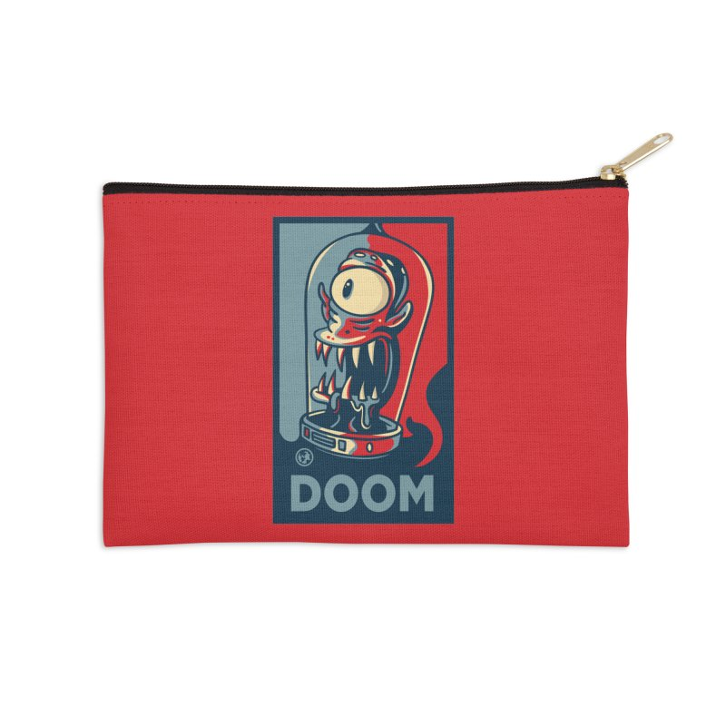 DOOM Accessories Zip Pouch by MattAlbert84's Apparel Shop