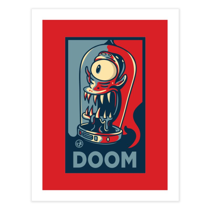 DOOM Home Fine Art Print by MattAlbert84's Apparel Shop