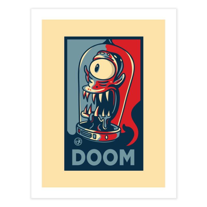 DOOM Home Fine Art Print by MattAlbert84's Apparel Shop