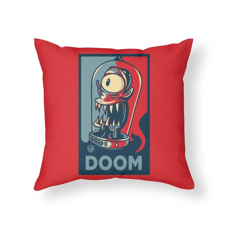 DOOM Home Throw Pillow by MattAlbert84's Apparel Shop