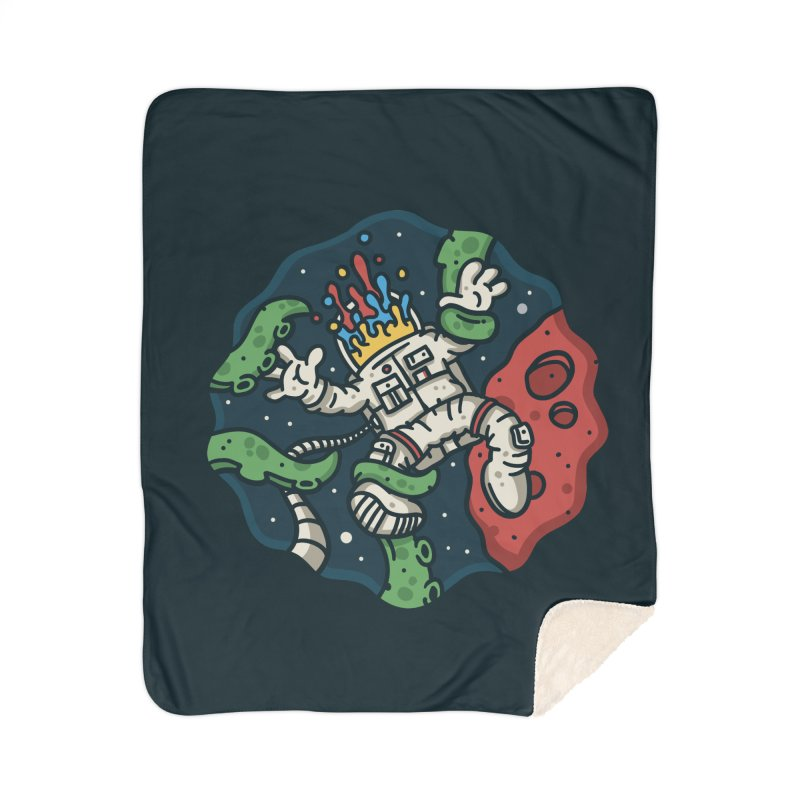 Lost In Space Home Sherpa Blanket Blanket by MattAlbert84's Apparel Shop