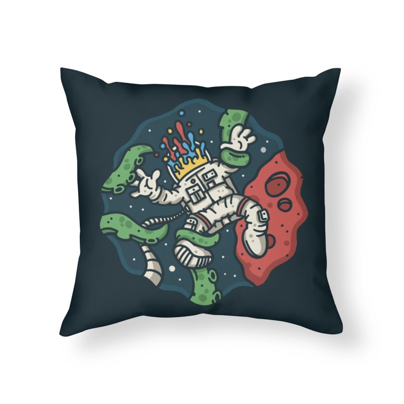 Lost In Space Home Throw Pillow by MattAlbert84's Apparel Shop