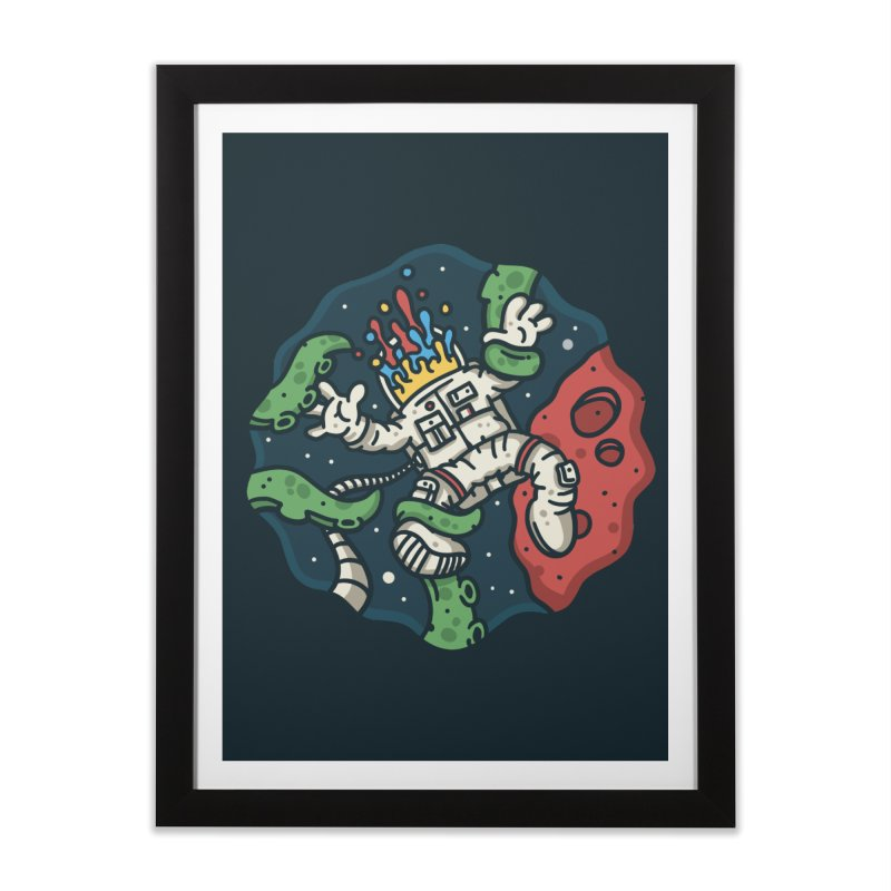 Lost In Space Home Framed Fine Art Print by MattAlbert84's Apparel Shop