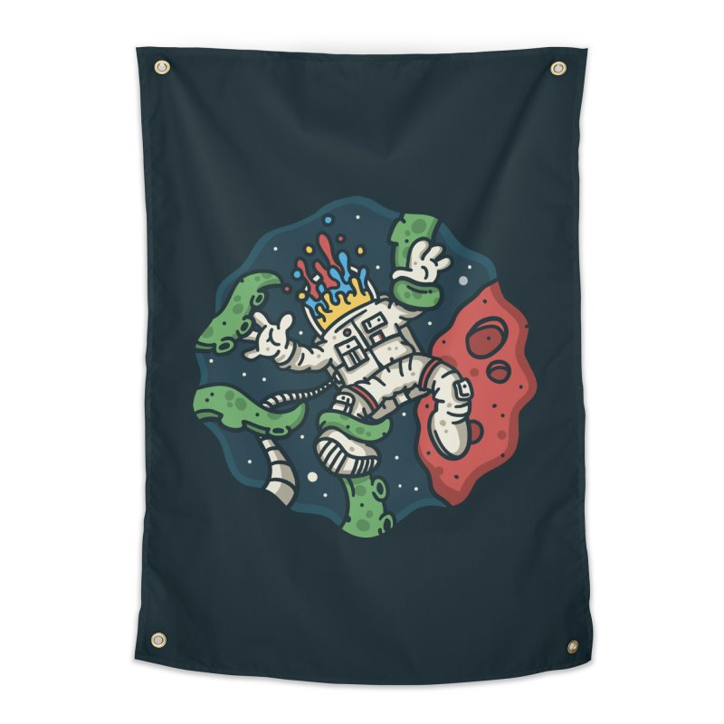 Lost In Space Home Tapestry by MattAlbert84's Apparel Shop