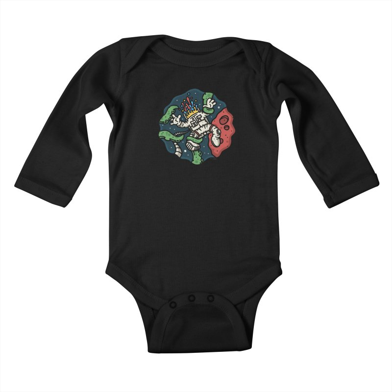 Lost In Space Kids Baby Longsleeve Bodysuit by MattAlbert84's Apparel Shop