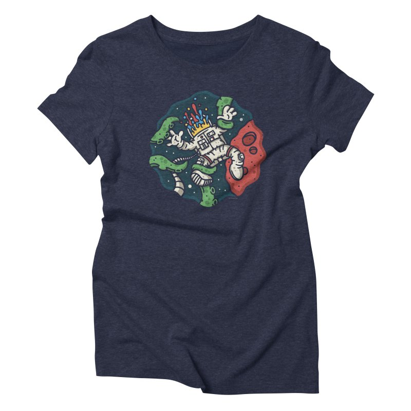 Lost In Space Women's Triblend T-shirt by MattAlbert84's Apparel Shop