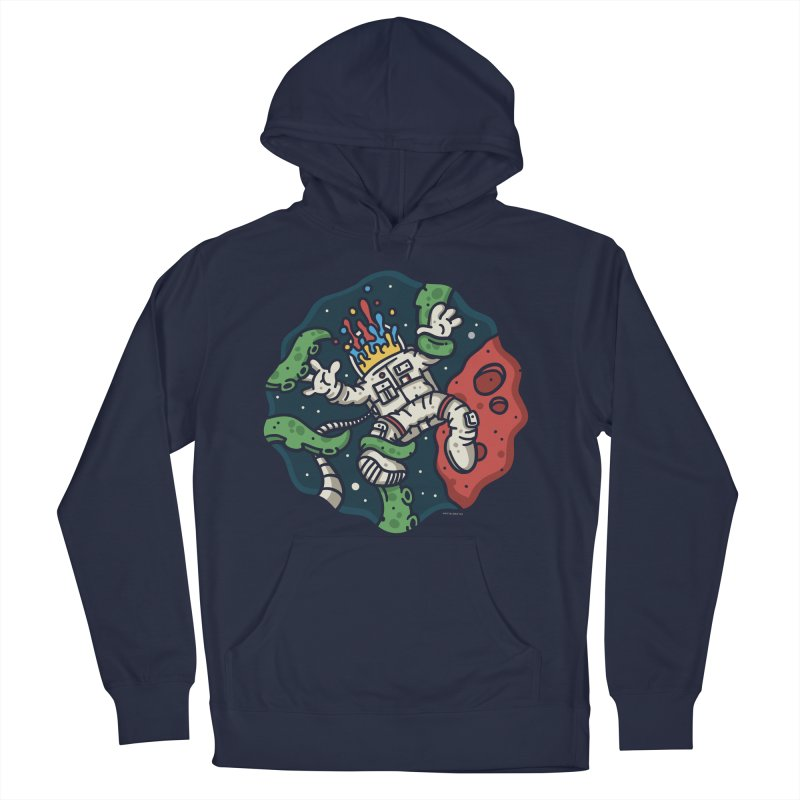 Lost In Space Men's French Terry Pullover Hoody by MattAlbert84's Apparel Shop