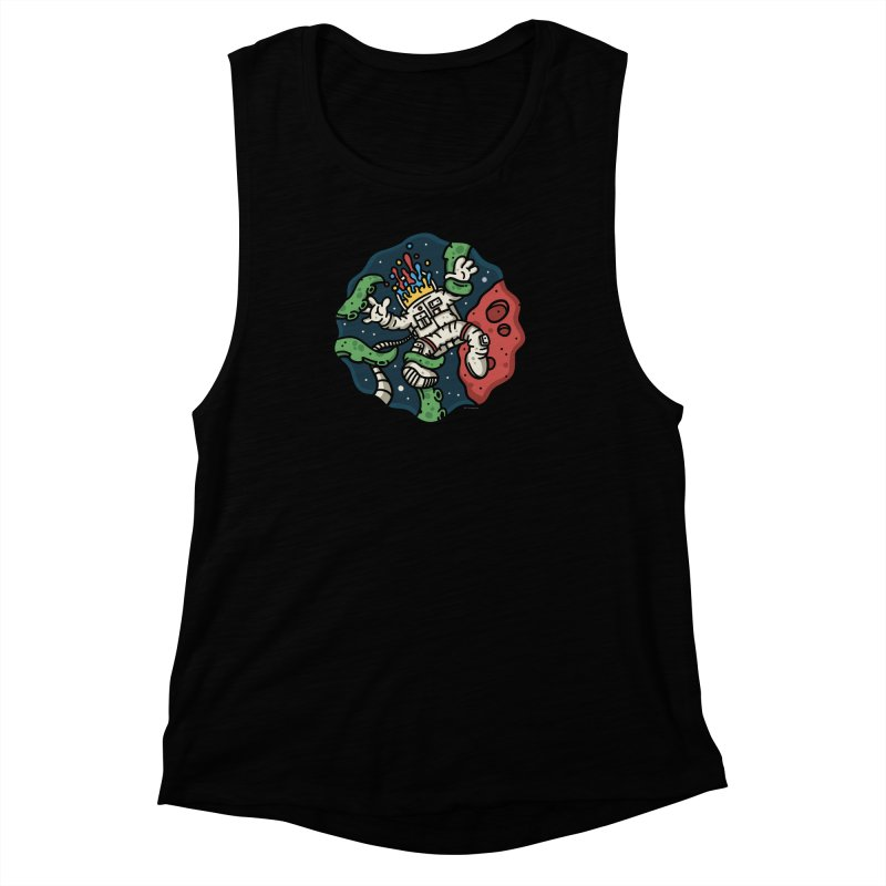 Lost In Space Women's Muscle Tank by MattAlbert84's Apparel Shop