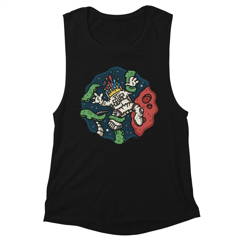 Lost In Space Women's Muscle Tank by MattAlbert84's Apparel Shop