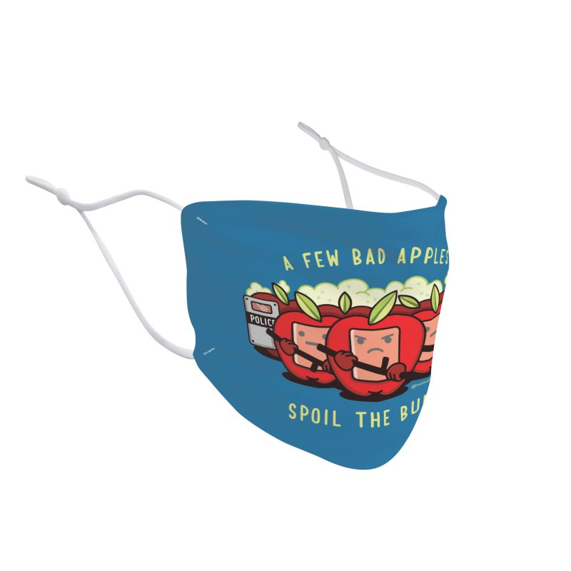 Bad Apples Accessories Face Mask by MattAlbert84's Apparel Shop