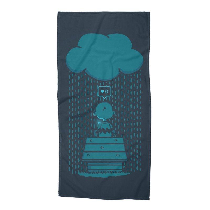 No Love Accessories Beach Towel by MattAlbert84's Apparel Shop