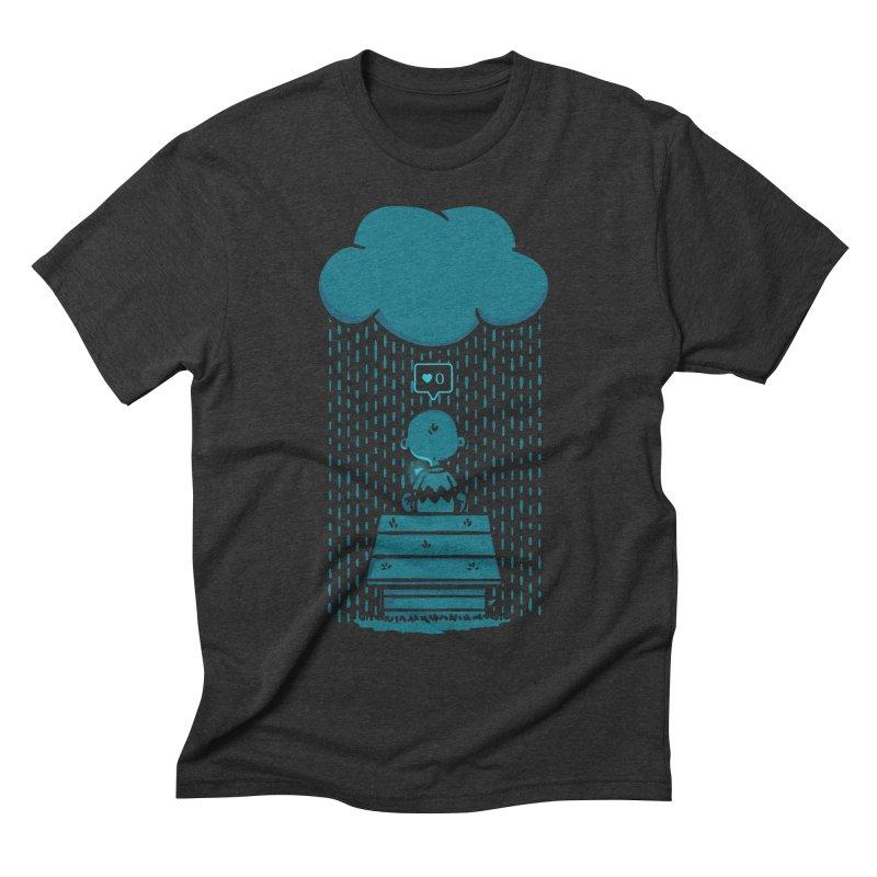 No Love Men's Triblend T-shirt by MattAlbert84's Apparel Shop