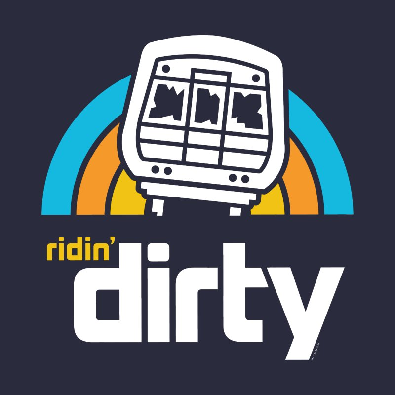 Ridin' Dirty Men's T-shirt by MattAlbert84's Apparel Shop