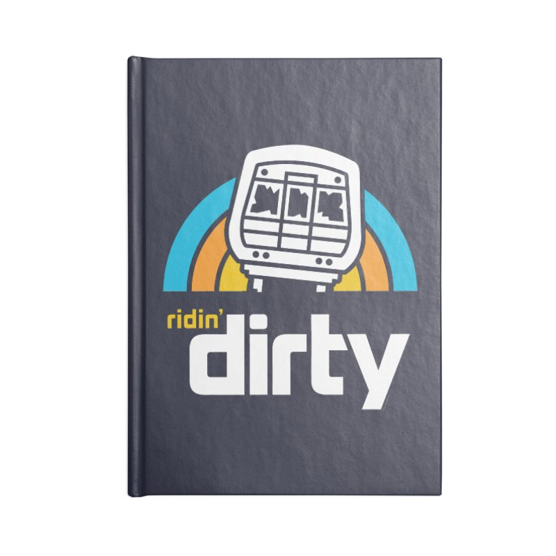 Ridin' Dirty Accessories Notebook by MattAlbert84's Apparel Shop
