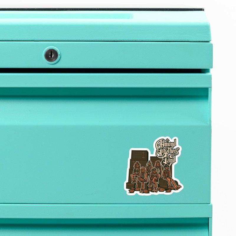 THE ALMOND BROS Accessories Magnet by MattAlbert84's Apparel Shop