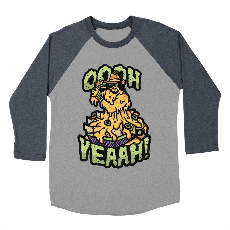 Nacho Man Men's Baseball Triblend Longsleeve T-Shirt by MattAlbert84's Apparel Shop