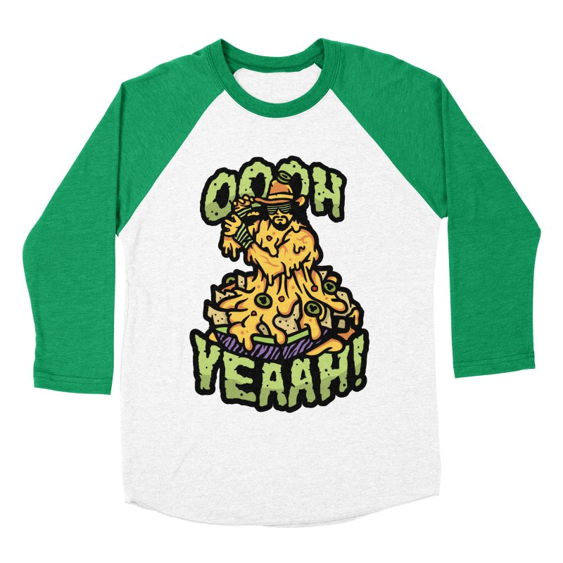 Nacho Man Men's Baseball Triblend T-Shirt by MattAlbert84's Apparel Shop