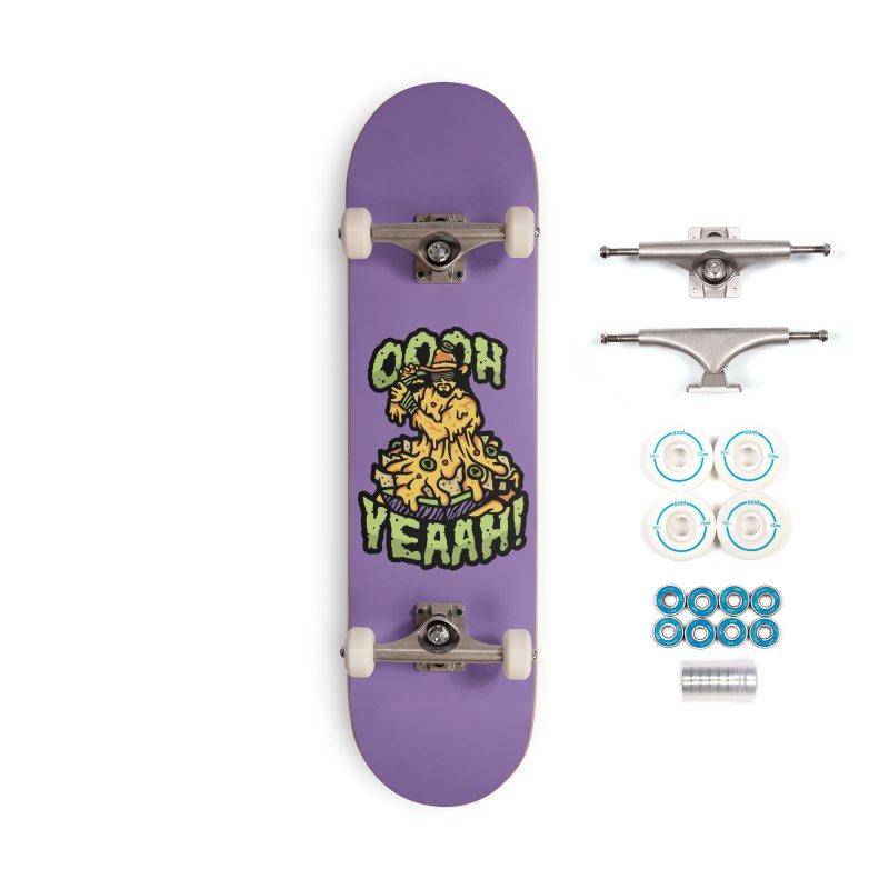 Nacho Man Accessories Skateboard by MattAlbert84's Apparel Shop