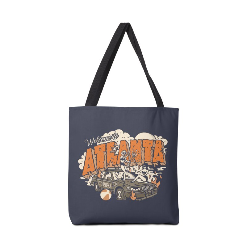 Welcome to Atlanta Accessories Tote Bag Bag by MattAlbert84's Apparel Shop