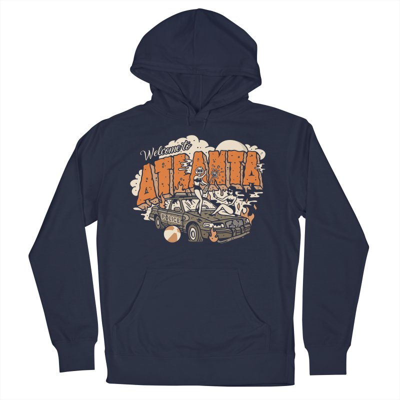 Welcome to Atlanta Men's French Terry Pullover Hoody by MattAlbert84's Apparel Shop