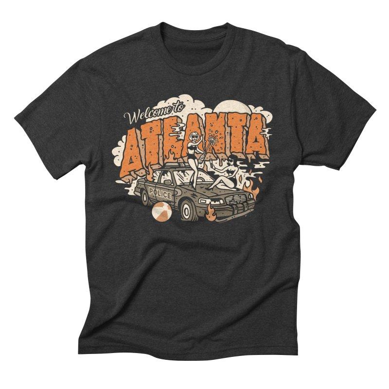Welcome to Atlanta Men's Triblend T-shirt by MattAlbert84's Apparel Shop
