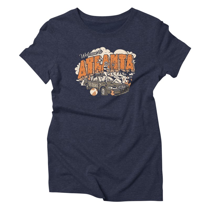 Welcome to Atlanta Women's Triblend T-shirt by MattAlbert84's Apparel Shop