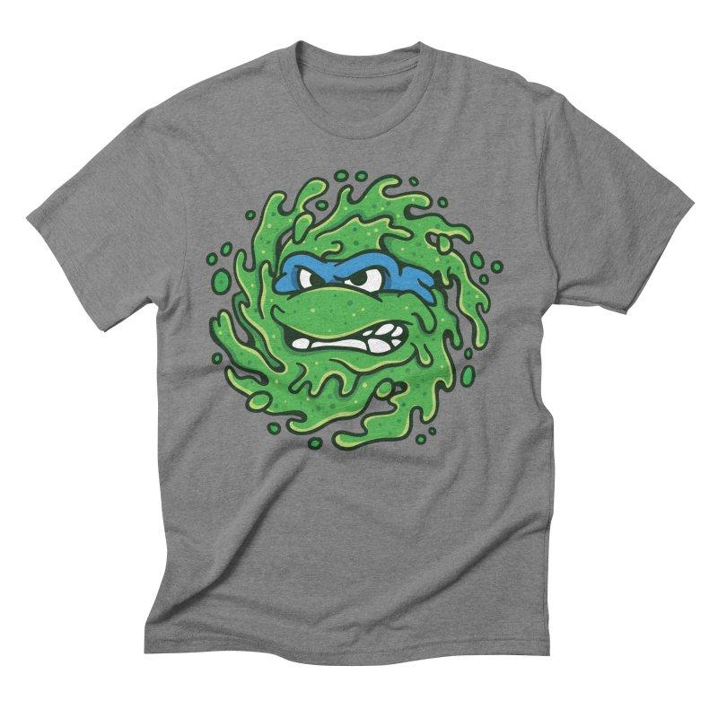 Sewer Slimeballs - Leo Men's Triblend T-shirt by MattAlbert84's Apparel Shop