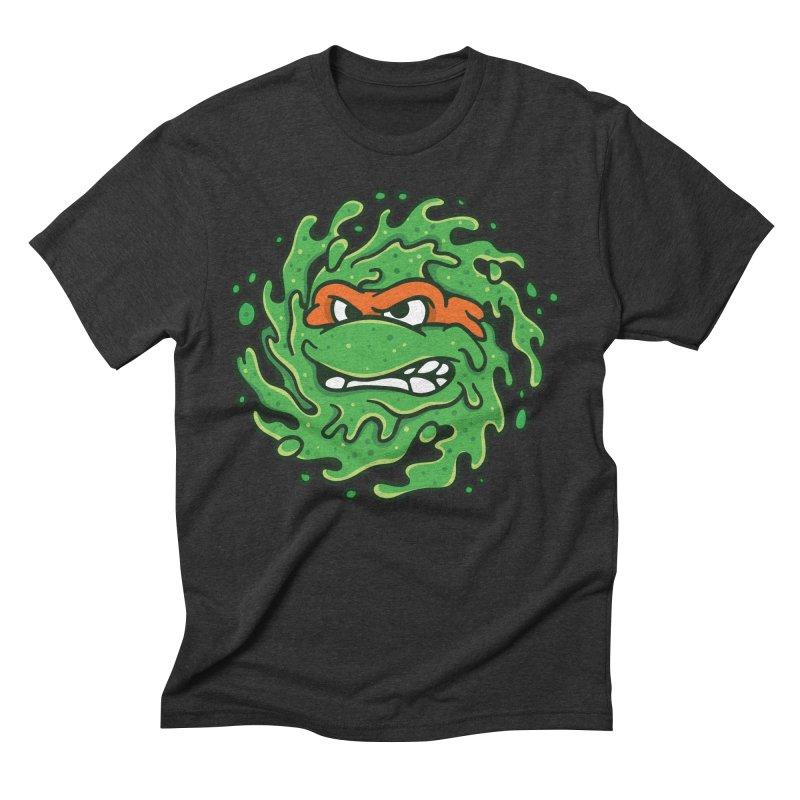 Sewer Slimeballs - Mikey Men's Triblend T-shirt by MattAlbert84's Apparel Shop