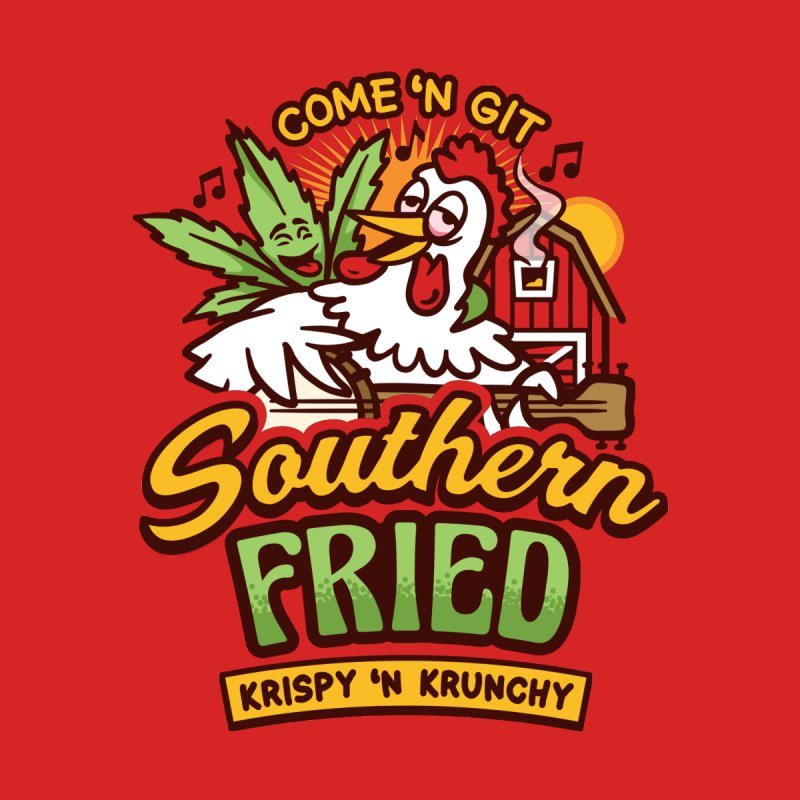 Southern Fried Accessories Skateboard by MattAlbert84's Apparel Shop