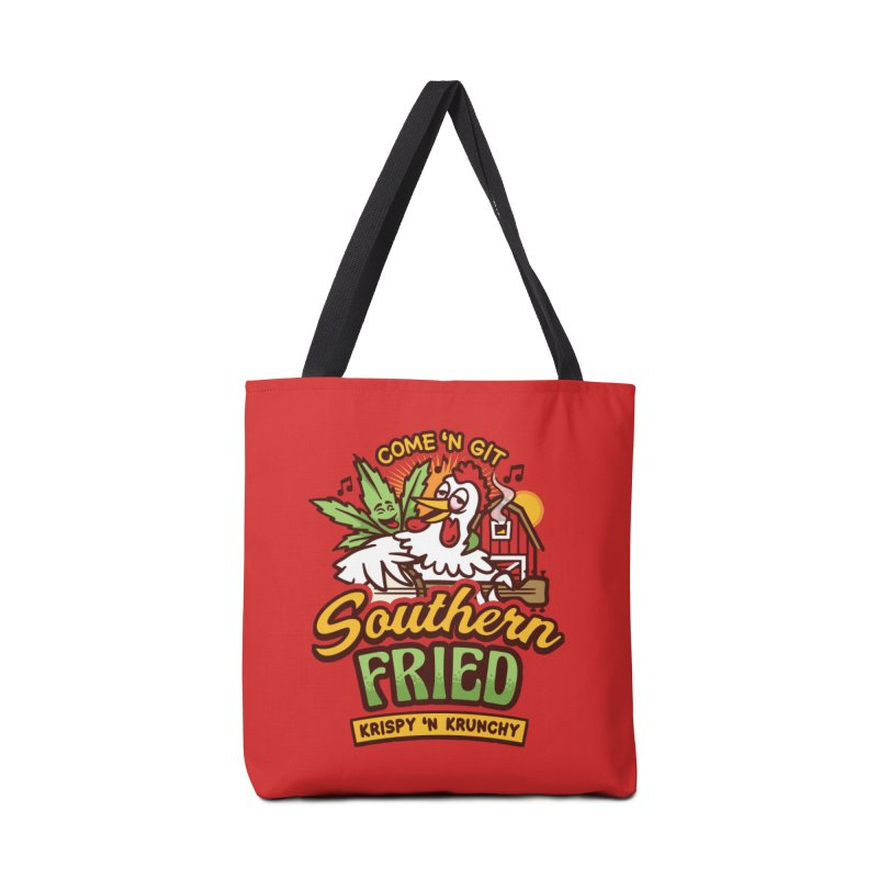 Southern Fried Accessories Tote Bag Bag by MattAlbert84's Apparel Shop