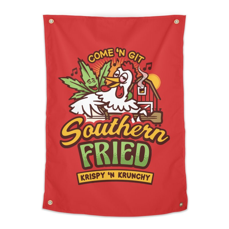Southern Fried Home Tapestry by MattAlbert84's Apparel Shop