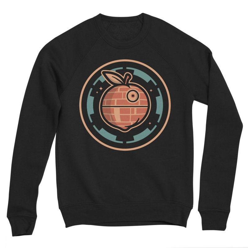 The Death Peach Men's Sponge Fleece Sweatshirt by MattAlbert84's Apparel Shop