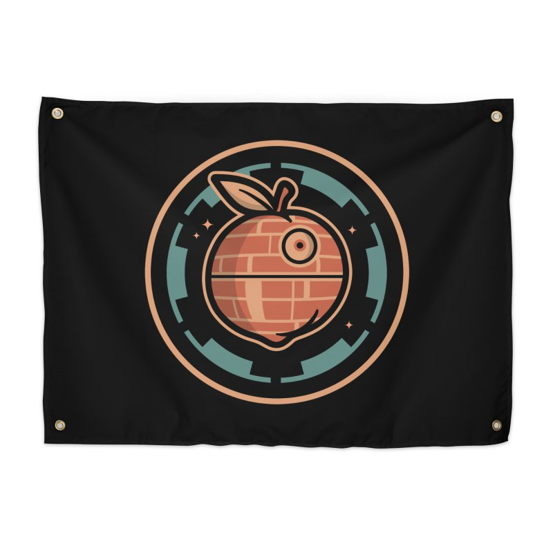The Death Peach Home Tapestry by MattAlbert84's Apparel Shop