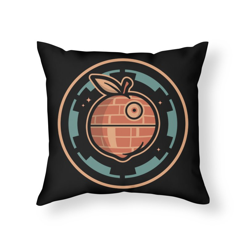 The Death Peach Home Throw Pillow by MattAlbert84's Apparel Shop