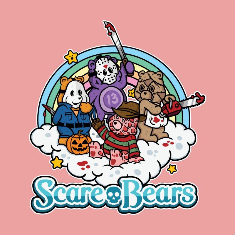 Scare-Bears Men's Triblend T-Shirt by MattAlbert84's Apparel Shop