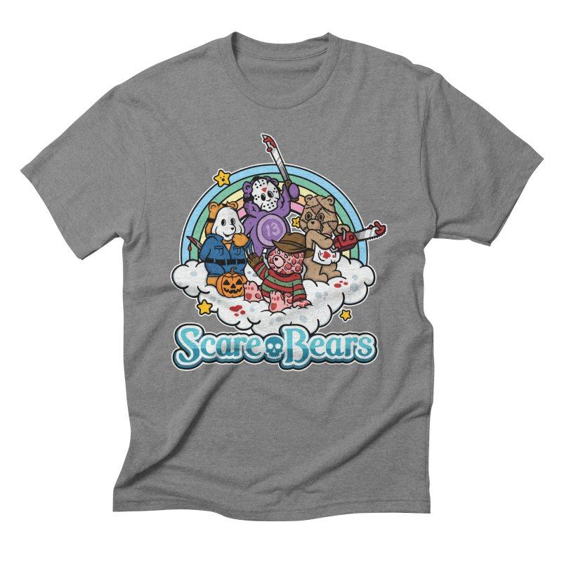 Scare-Bears Men's Triblend T-Shirt by MattAlbert84's Apparel Shop