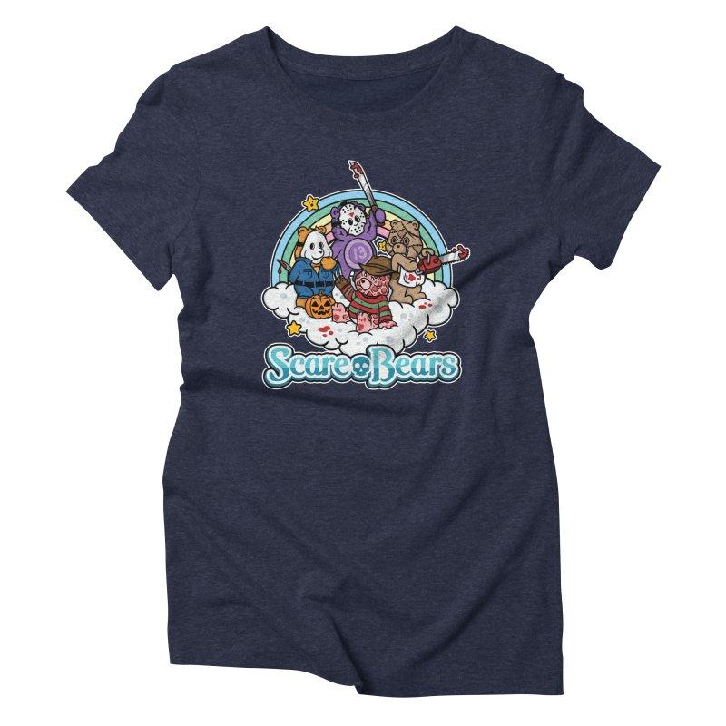 Scare-Bears Women's Triblend T-shirt by MattAlbert84's Apparel Shop
