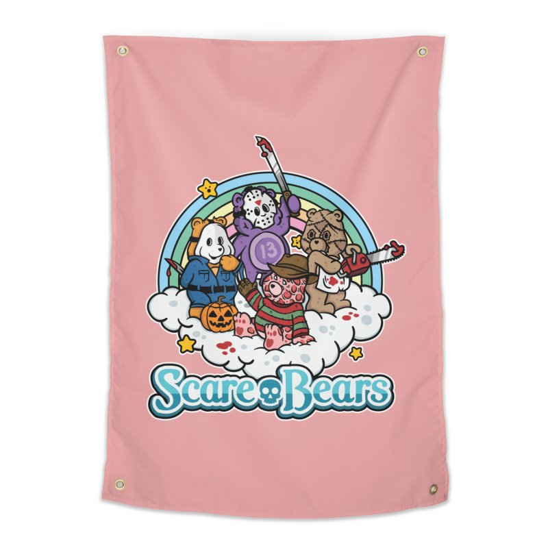 Scare-Bears Home Tapestry by MattAlbert84's Apparel Shop