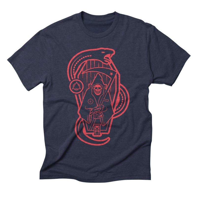 Reap What You Sow in Men's Triblend T-shirt Navy by MattAlbert84's Apparel Shop