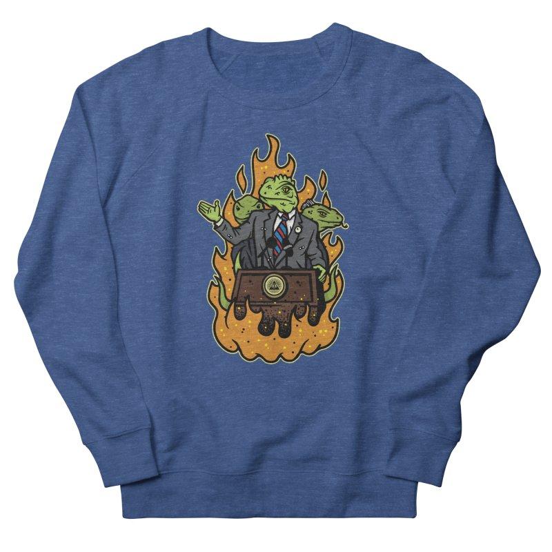 Lizard People Women's Sweatshirt by MattAlbert84's Apparel Shop