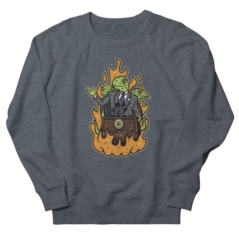 Lizard People Men's Sweatshirt by MattAlbert84's Apparel Shop