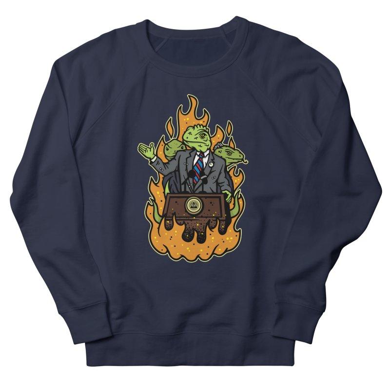 Lizard People Women's French Terry Sweatshirt by MattAlbert84's Apparel Shop